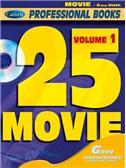 25 Movie, Volume 1 (Gkey Instr.). C Instruments Sheet Music, CD