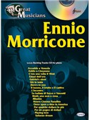 Ennio Morricone: Great Musicians Series. Piano Sheet Music, CD