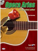Opera Arias for Classical Guitar. Sheet Music, CD