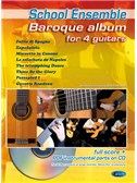 Baroque Album for 4 Guitars. Sheet Music, CD-Rom