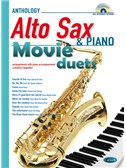 Movie Duets for Alto Sax & Piano. Saxophone Sheet Music, CD