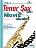 Movie Duets for Tenor Sax & Piano. Saxophone Sheet Music, CD