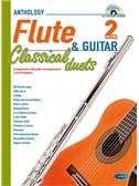 Classical Duets for Flute and Guitar Vol.2. Sheet Music, CD