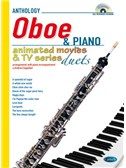 Animated Movies and TV Duets for Oboe And Piano