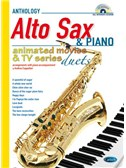 Animated Movies and TV Duets for Alto Sax And Piano