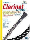 Animated Movies and TV Duets for Clarinet And Piano