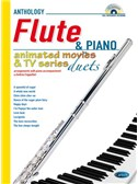 Animated Movies and TV Duets for Flute And Piano