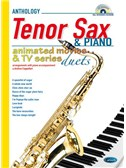 Animated Movies and TV Duets for Tenor Sax And Piano