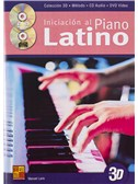 Manuel Lario: Iniciacion Al Piano Latino (Book/CD/DVD)