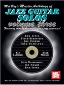 Master Anthology of Jazz Guitar Solos, Volume 3
