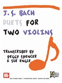 J.S. Bach: Duets for Two Violins. Sheet Music