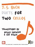J. S. Bach: Duets for Two Cellos. Sheet Music