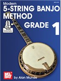 Alan Munde: Modern 5-String Banjo Method - Grade 1 (Book/Online Audio)
