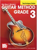 Modern Guitar Method Grade 3, Technique Solos