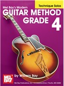 Modern Guitar Method Grade 4, Technique Solos