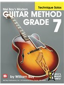 Modern Guitar Method Grade 7, Technique Solos