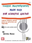 Classic Masterpieces Made Easy for Acoustic Guitar