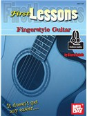 Steve Eckels: First Lessons Fingerstyle Guitar (Book/Online Audio)