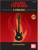 Learn To Burn: 5-String Bass Guitar (Book/CD Set)