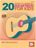 20 Easy Classical Guitar Pieces For Kids (Book/CD Set)