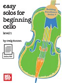 Craig Duncan: Easy Solos For Beginning Cello - Level 1 (Book/Online PDF)