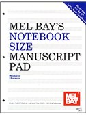 Notebook-Size Manuscript Pad 12-Stave