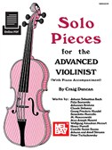 Craig Duncan: Solo Pieces For The Advanced Violinist (Book/Online PDF Supplement)