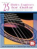 Gerald Garcia: 25 Etudes Esquisses for Guitar