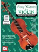 Arr. Peter Spitzer: Easy Classics For Violin - With Piano Accompaniment (Book/Online PDF). Sheet Music, Downloads
