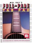 Full Page Tab Pad