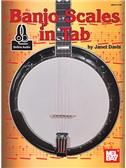 Janet Davis: Banjo Scales In Tab (Book/Online Audio)