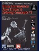 Blues Harmonica Jam Tracks & Soloing Concepts #3 (Book/Online Audio)