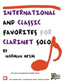 International and Classic Favorites for Clarinet Solo