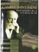 Camille Saint-Saens: Piano Concerto No. 4 In C Minor, Op.44 (Book/CD)