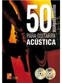 50 Acompañamientos Para La Guitarra Acústica (Book/CD/DVD)