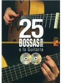 Adrian Santos: 25 Bossas Novas A La Guitarra (Book/CD/DVD)