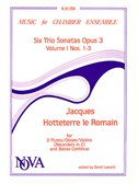 Jacques Hotteterre: Six Trio Sonatas