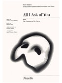All I Ask Of You Show Singles