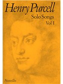 Henry Purcell: Solo Songs Volume I