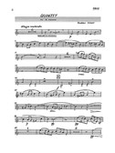 Gustav Holst: Quintet In A Minor For Piano and Wind Op.3 (Parts)