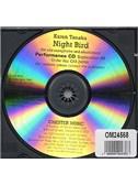 Karen Tanaka: Night Bird For Alto Saxophone And Electronics (Performance CD)