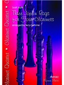 Scott Joplin: Three Joplin Rags - Clarinet Quartet
