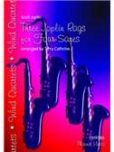 Scott Joplin: Three Joplin Rags - Saxophone Quartet (AATT)