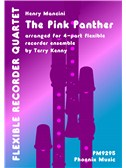 Henry Mancini: The Pink Panther (Recorder Quartet)