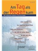 Am Tag Als Der Regen Kam. Die Schönsten Liedtexte Von Ernst Bader (Textheft). Lyrics Only Sheet Music