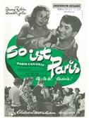 Léo Ferré: So Ist Paris (Paris Canaille)