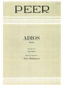 Enric Madriguera: Adios