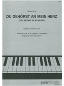 Augustin Lara: Du Gehörst An Mein Herz (You Belong To My Heart)