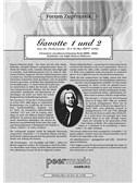 Forum Zupfmusik: J. S. Bach - Gavotte 1 And 2 (Mandolin 2). Sheet Music