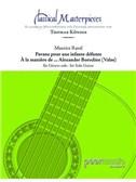 Classical Masterpieces: Maurice Ravel - Pavane Pour Une Infante Défunte/à La Maniere De ... Alexander Borodine (Valse). Guitar Sheet Music